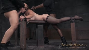 Bella Rossi - Bella Rossi's BaRS show continues with breathplay rough fucking and brutal deepthroat on BBC!