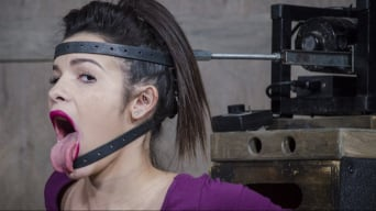 Eden Sin in 'BaRS part 1: The Return of the Face Fucking Machine, this girl was made for this!'