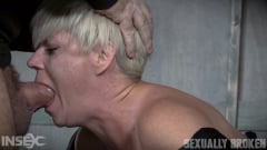 Helena Locke - Helena Locke loves being stuffed full of hard cock! Brutal throat fucking, crying and begging (Thumb 11)
