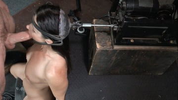 India Summer - India Summer: The ultimate MILF is bound on the world's only face fucking machine and on a sybian!