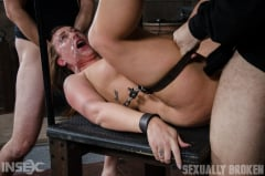 Maddy O'Reilly - Maddy O'Reilly is sexually brutalized by cock and bondage. Deepthroated and fucked while helpless. (Thumb 07)