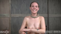 Sierra Cirque - Cute girl next door, suffers brutal deepthroating and rough fucking, extreme bondage and sex! (Thumb 15)