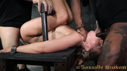 Insex 'Sexy Stevie Smith gets the Sexuallybroken treatment, squirting, rough sex and deepthroat!' starring Stevie Smith (Photo 12)