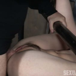 Amarna Miller in 'Insex' is bound on her back and fucked from both ends, brutal face fucking and orgasms! (Thumbnail 6)