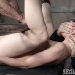 Amarna Miller in 'Insex' is bound on her back and fucked from both ends, brutal face fucking and orgasms! (Thumbnail 13)