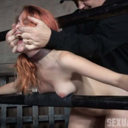 Amarna Miller in 'Insex' is one sexy redhead, who gets destroyed by cock and orgasms while bound and helpless! (Thumbnail 11)