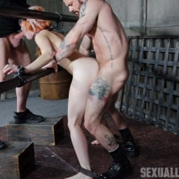 Amarna Miller in 'Insex' is one sexy redhead, who gets destroyed by cock and orgasms while bound and helpless! (Thumbnail 14)