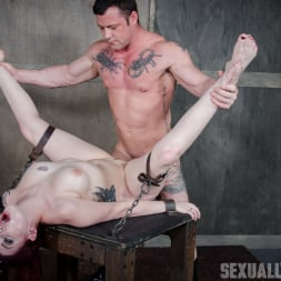 Amber Ivy in 'Insex' is bound down and brutal throated and fucked to screaming orgasms! Hard rough sex! (Thumbnail 1)