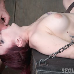 Amber Ivy in 'Insex' is bound down and brutal throated and fucked to screaming orgasms! Hard rough sex! (Thumbnail 3)