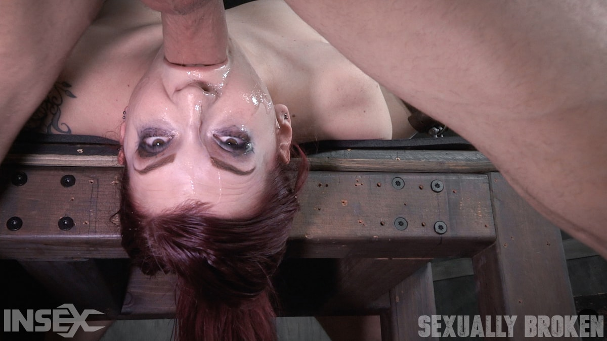 Insex 'is bound down and brutal throated and fucked to screaming orgasms! Hard rough sex!' starring Amber Ivy (Photo 6)
