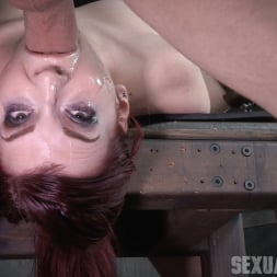 Amber Ivy in 'Insex' is bound down and brutal throated and fucked to screaming orgasms! Hard rough sex! (Thumbnail 6)