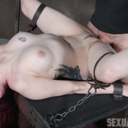 Amber Ivy in 'Insex' is bound down and brutal throated and fucked to screaming orgasms! Hard rough sex! (Thumbnail 8)