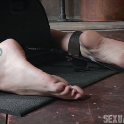 Amber Ivy in 'Insex' is bound in shackles on a Sybian, made to cum over and over while brutally face fucked! (Thumbnail 3)
