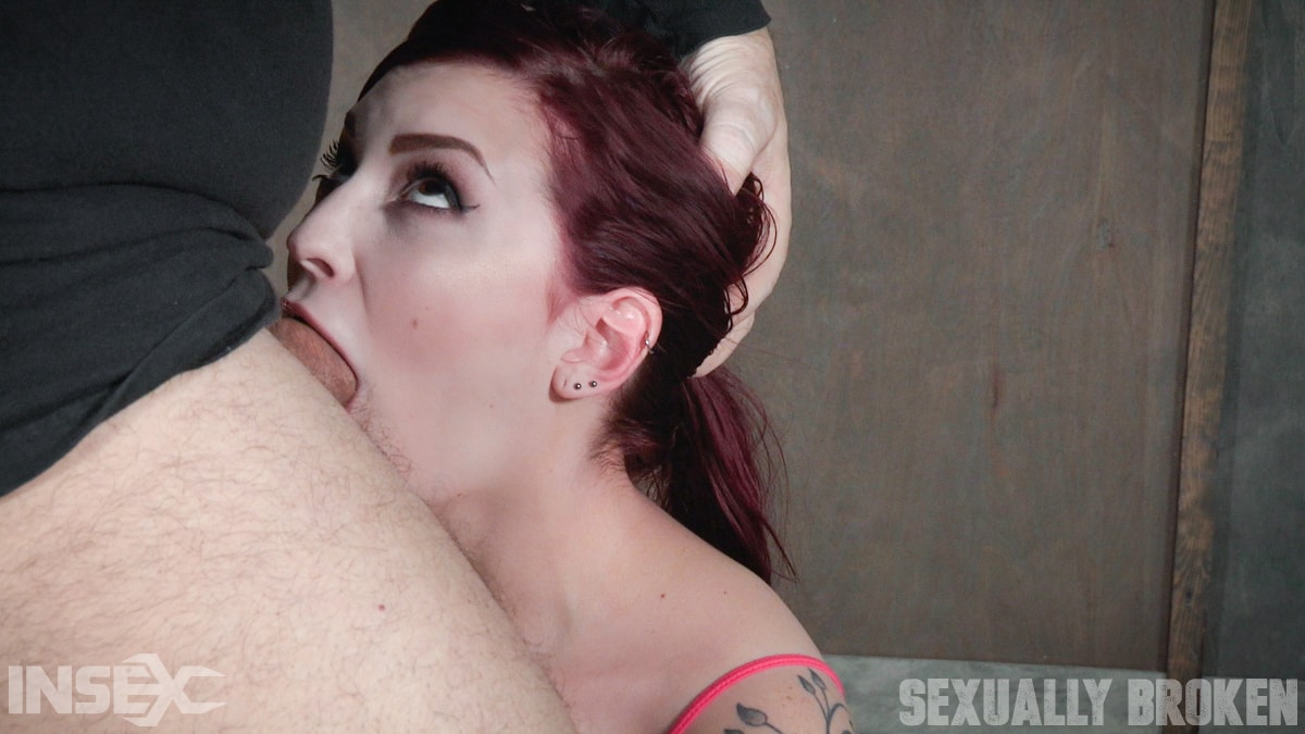 Insex 'is bound in shackles on a Sybian, made to cum over and over while brutally face fucked!' starring Amber Ivy (Photo 5)