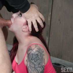 Amber Ivy in 'Insex' is bound in shackles on a Sybian, made to cum over and over while brutally face fucked! (Thumbnail 13)