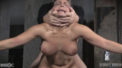 Angel Allwood - Angel Allwood BaRS show continues with a spit roasting on hard cock, brutal BBC deepthroat! (Thumb 05)