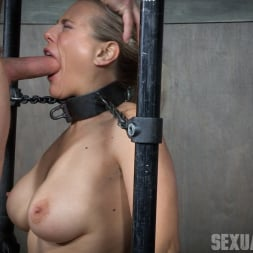 Angel Allwood in 'Insex' is neck bound on a Sybian and throat fucked while violently cumming over and over! (Thumbnail 6)