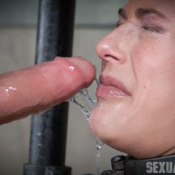 Angel Allwood in 'Insex' is neck bound on a Sybian and throat fucked while violently cumming over and over! (Thumbnail 10)