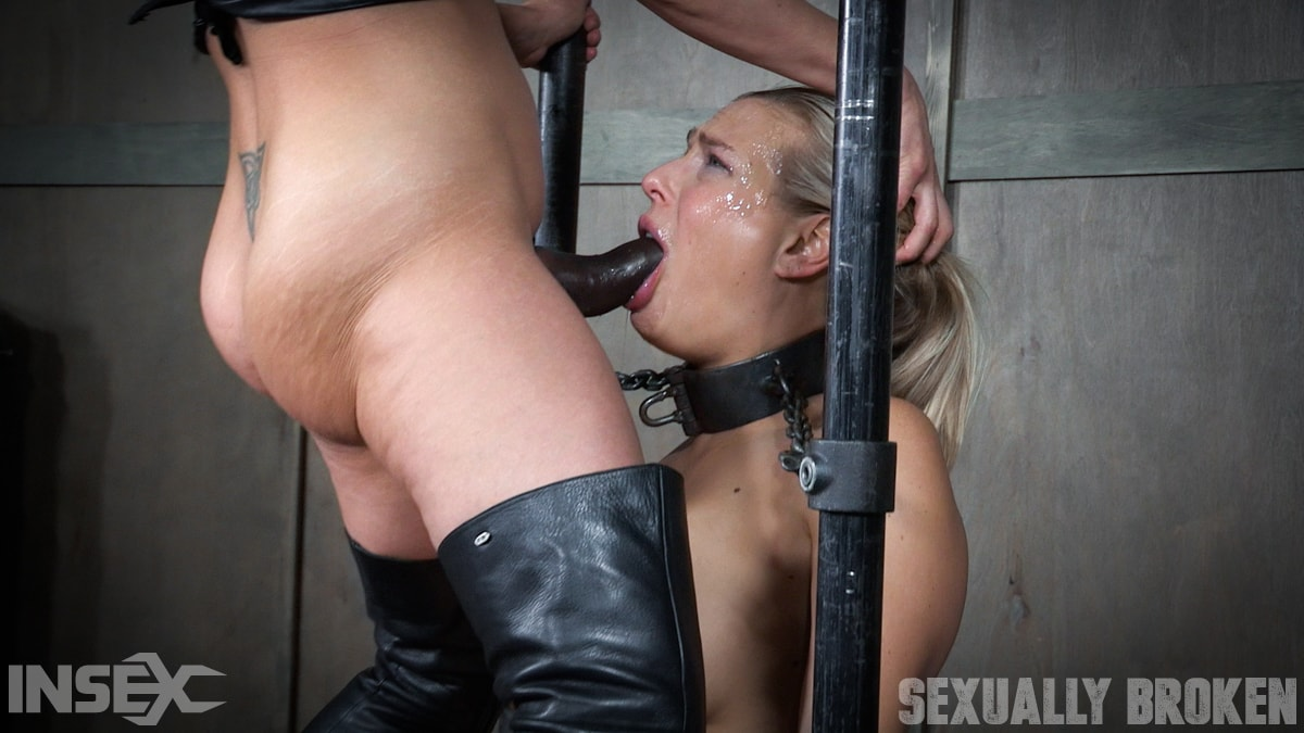 Insex 'is neck bound on a Sybian and throat fucked while violently cumming over and over!' starring Angel Allwood (Photo 12)