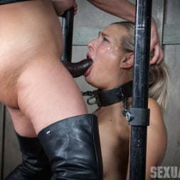 Angel Allwood in 'Insex' is neck bound on a Sybian and throat fucked while violently cumming over and over! (Thumbnail 12)