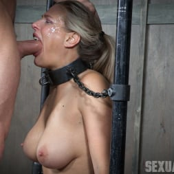 Angel Allwood in 'Insex' is neck bound on a Sybian and throat fucked while violently cumming over and over! (Thumbnail 13)