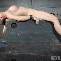 Angel Allwood in 'Insex' Bound and helpless, Big titted blond is deepthroated, face fucked and made to cum over and over! (Thumbnail 2)