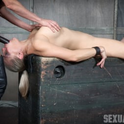 Angel Allwood in 'Insex' Bound and helpless, Big titted blond is deepthroated, face fucked and made to cum over and over! (Thumbnail 5)