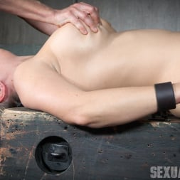 Angel Allwood in 'Insex' Bound and helpless, Big titted blond is deepthroated, face fucked and made to cum over and over! (Thumbnail 6)