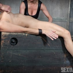 Angel Allwood in 'Insex' Bound and helpless, Big titted blond is deepthroated, face fucked and made to cum over and over! (Thumbnail 13)
