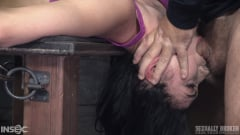 Aria Alexander - Aria Alexander roughly fucked by BBC in handcuff bondage for her live BaRS show, epic deepthroat! (Thumb 15)