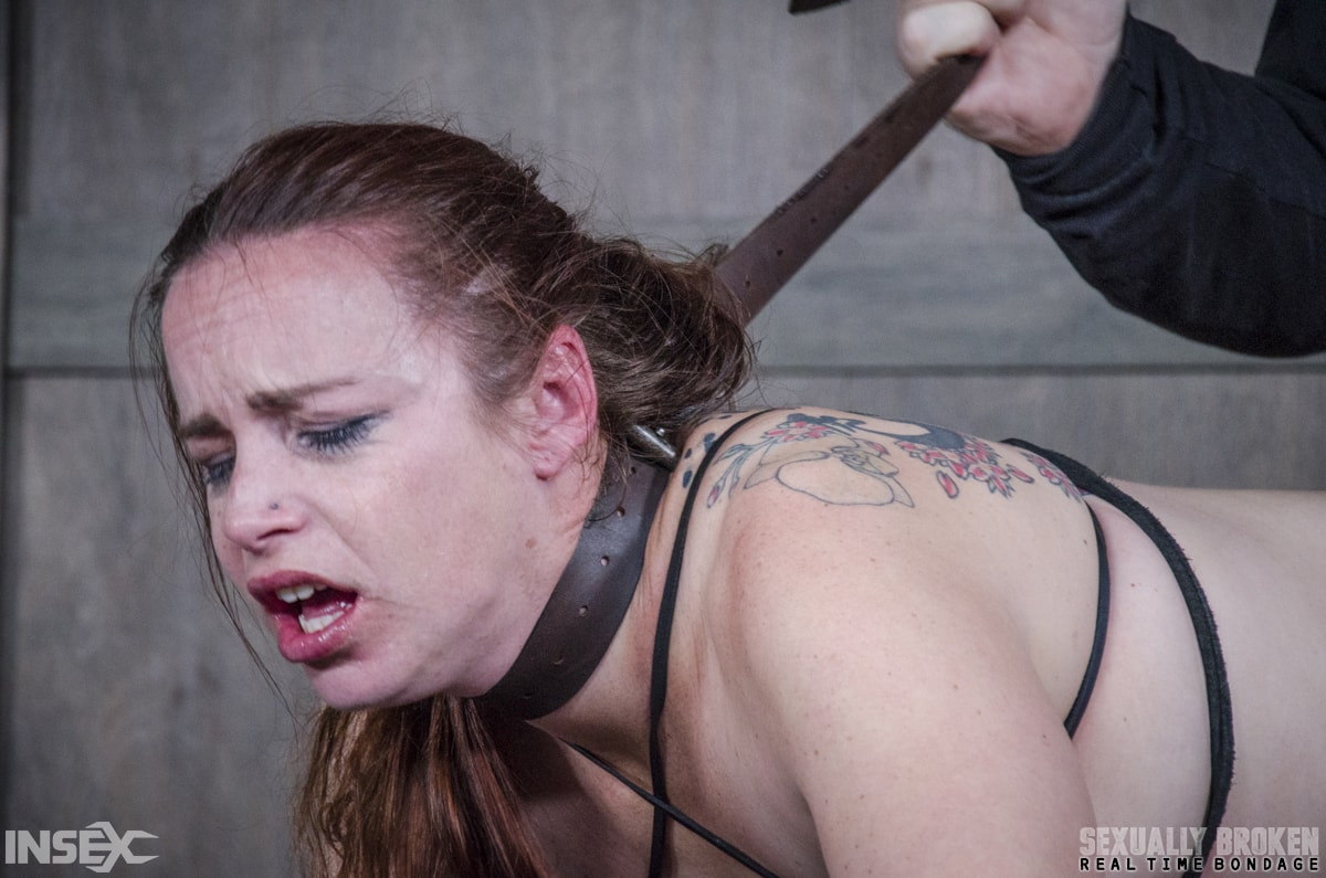 Insex 'BaRS: Bound, and collared, Bella is destroyed by cock, mentally, physically!' starring Bella Rossi (Photo 10)