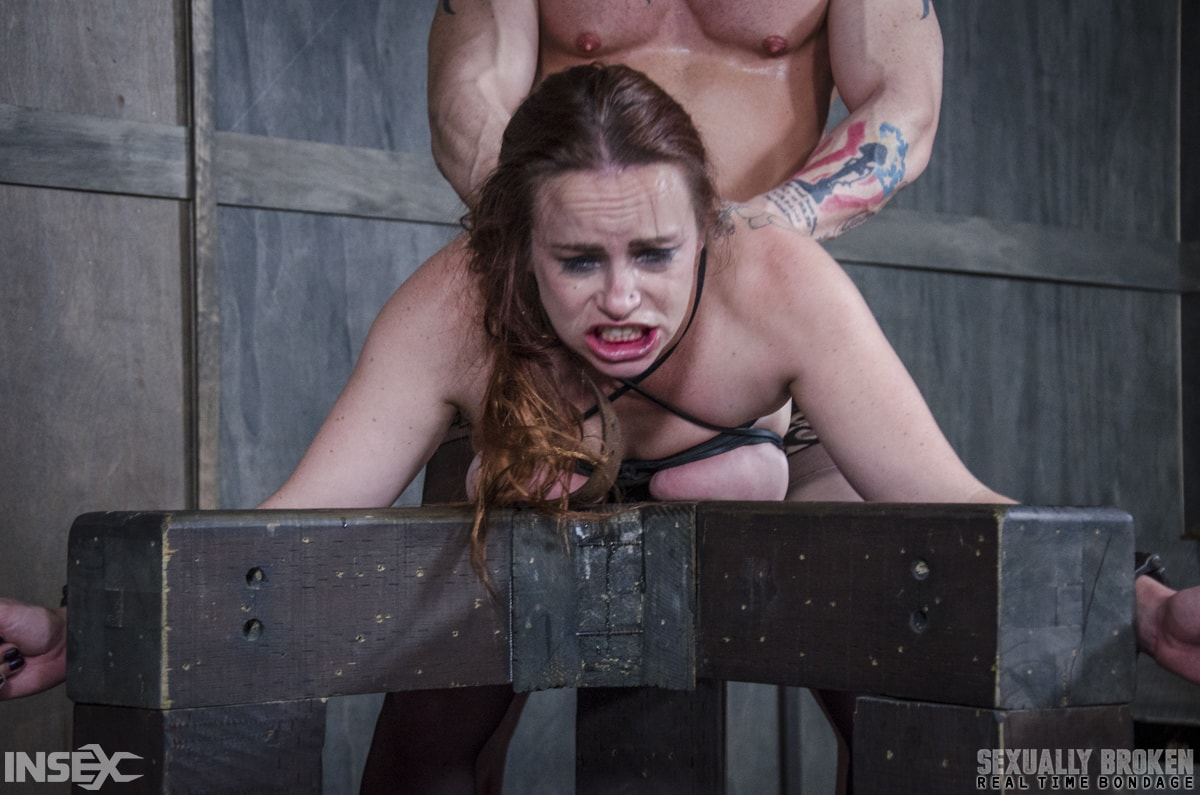 Insex 'BaRS: Bound, and collared, Bella is destroyed by cock, mentally, physically!' starring Bella Rossi (Photo 13)