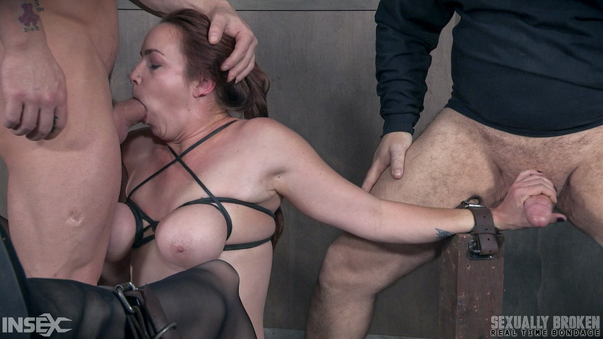Insex 'BaRS Part 1: Big titted girl next door, brutally face fucked and made to orgasm!' starring Bella Rossi (Photo 6)
