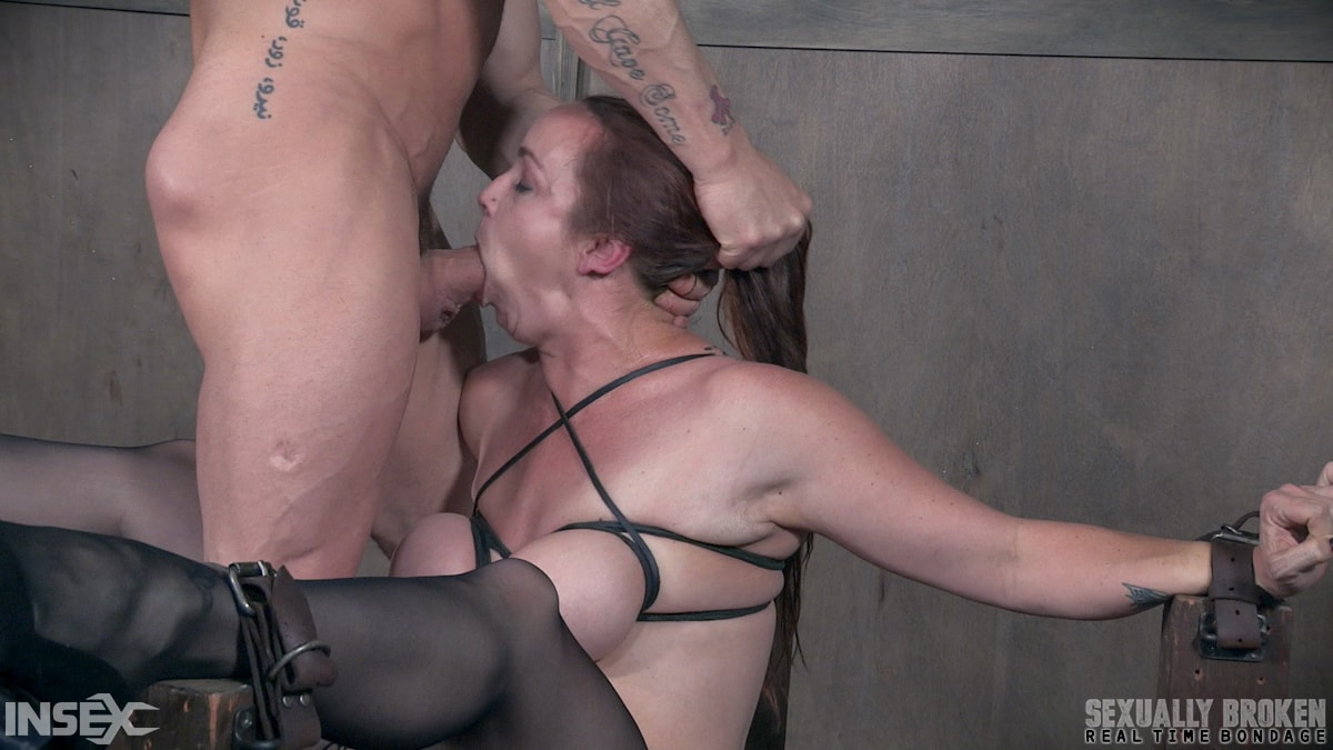 Insex 'BaRS Part 1: Big titted girl next door, brutally face fucked and made to orgasm!' starring Bella Rossi (Photo 7)