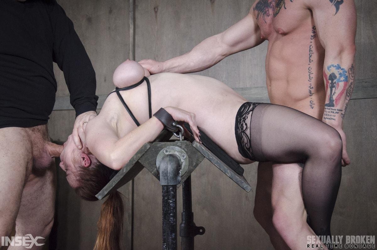 Insex 'BaRS Part 2: Busty Bella Beautifully Bound Backwards Beaten with Boners!' starring Bella Rossi (Photo 1)