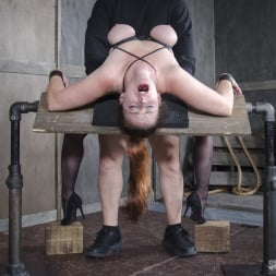 Bella Rossi in 'Insex' BaRS Part 2: Busty Bella Beautifully Bound Backwards Beaten with Boners! (Thumbnail 11)