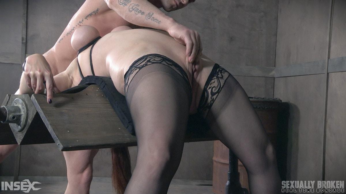 Insex 'BaRS Part 2: Busty Bella Beautifully Bound Backwards Beaten with Boners!' starring Bella Rossi (Photo 14)