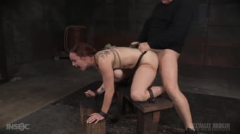 Bella Rossi に 'BaRS show continues with rough doggy style fucking and drooling BBC deepthroat!'