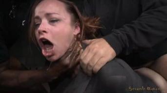 Bella Rossi に 'ビッグロビンベロロッシは、BBCの避けられない奴隷に大雑把に犯され、ディエドロットを罰した!'