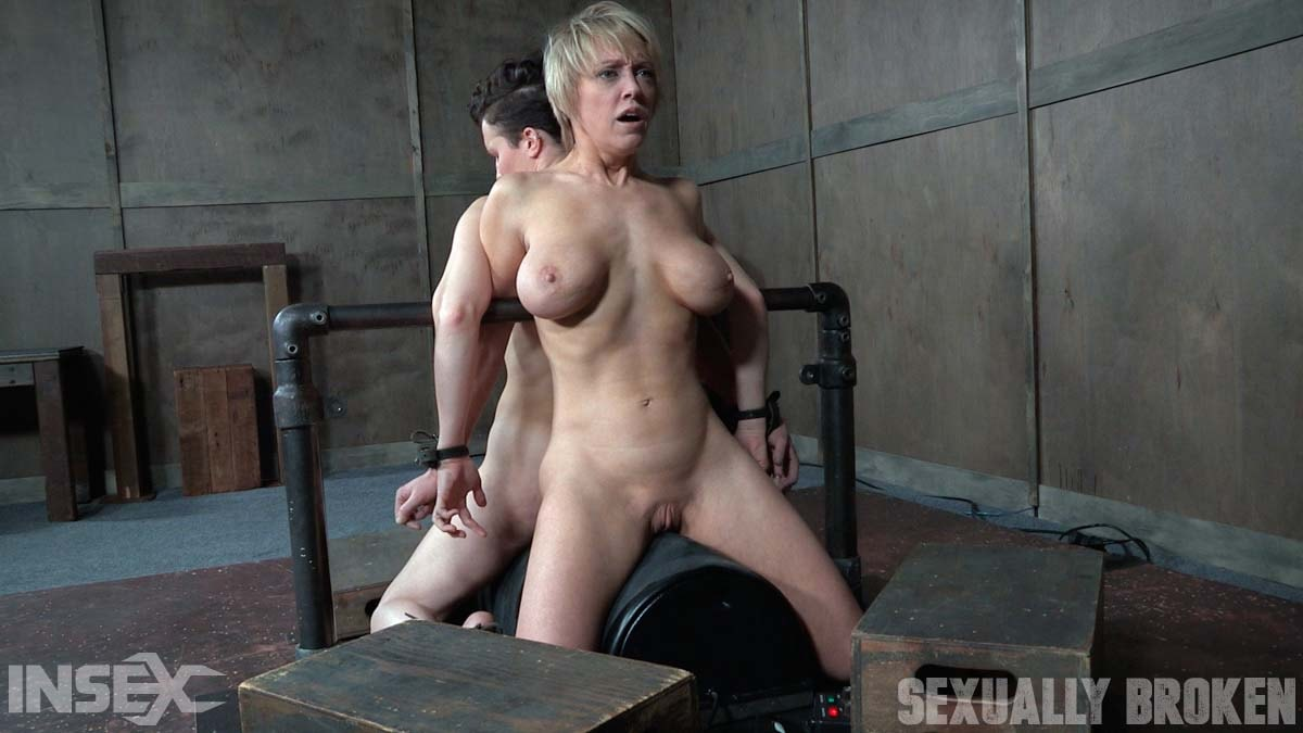 Insex 'Bonnie Day and Dee Williams both bound and cumming on a sybian while brutally face fucked!' starring Dee Williams (Photo 4)