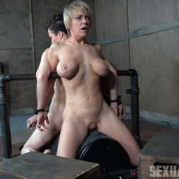 Dee Williams in 'Insex' Bonnie Day and Dee Williams both bound and cumming on a sybian while brutally face fucked! (Thumbnail 4)
