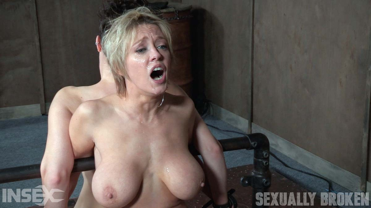 Insex 'Bonnie Day and Dee Williams both bound and cumming on a sybian while brutally face fucked!' starring Dee Williams (Photo 10)