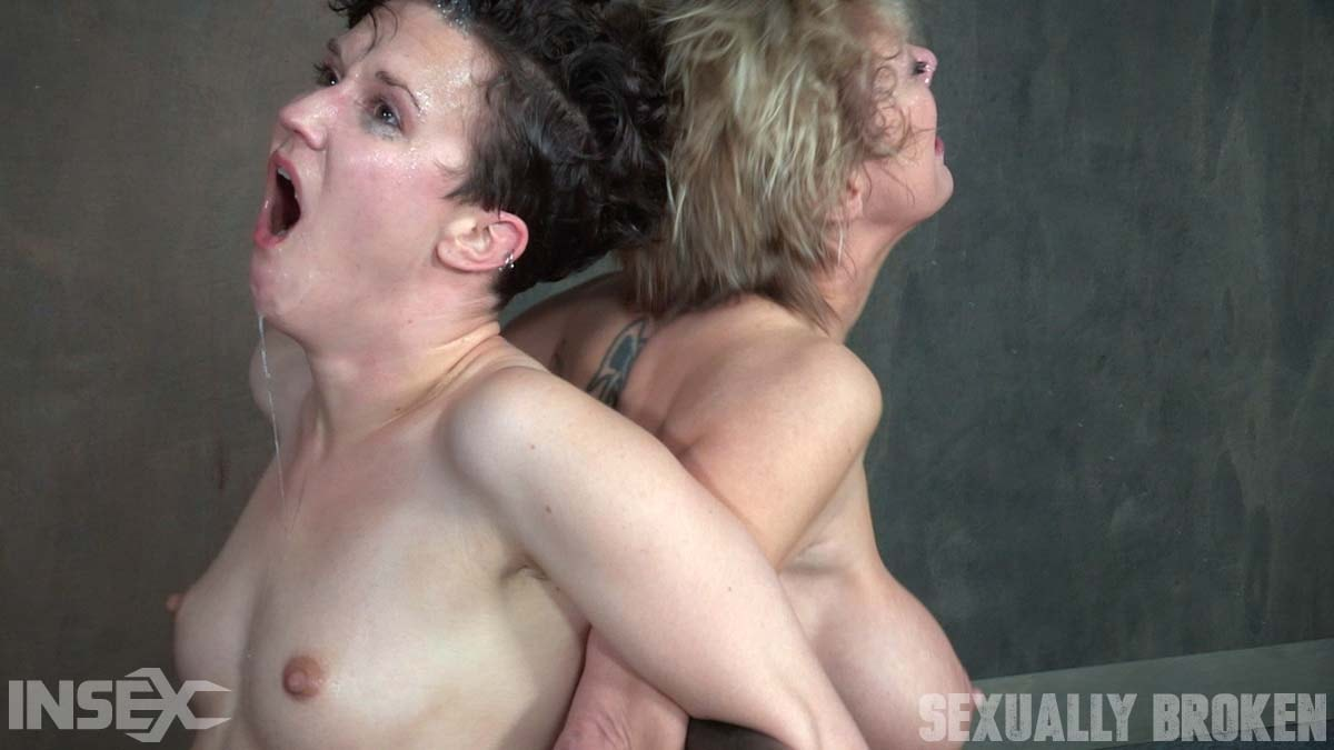 Insex 'Bonnie Day and Dee Williams both bound and cumming on a sybian while brutally face fucked!' starring Dee Williams (Photo 15)