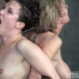 Dee Williams in 'Insex' Bonnie Day and Dee Williams both bound and cumming on a sybian while brutally face fucked! (Thumbnail 15)