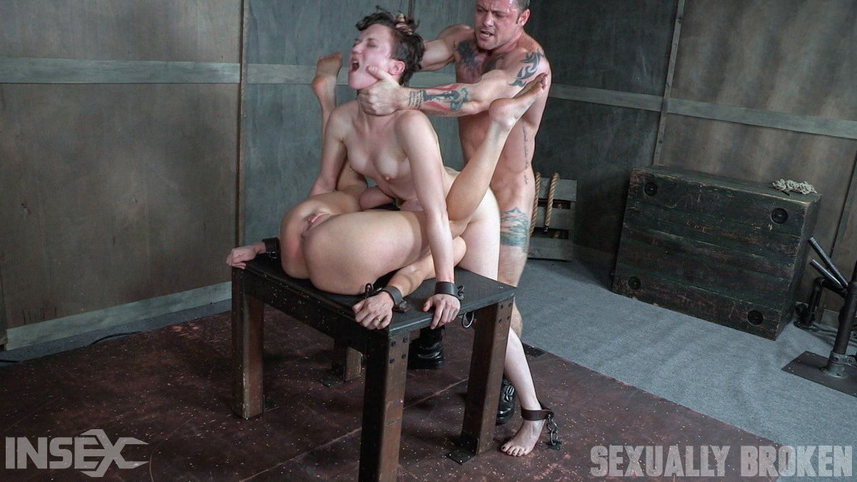 Insex 'Bonnie Day and Dee Williams bound in a Sexually Broken Sixty Nine. Brutal face and pussy fucking!' starring Dee Williams (Photo 12)
