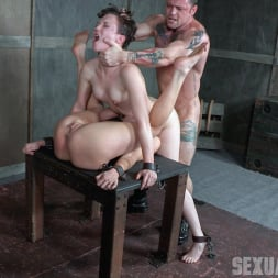 Dee Williams in 'Insex' Bonnie Day and Dee Williams bound in a Sexually Broken Sixty Nine. Brutal face and pussy fucking! (Thumbnail 12)