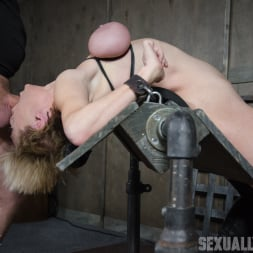 Dee Williams in 'Insex' Dee Williams, our sexy resident Top, gets grabbed, severely bound, Brutally face fucked on a sybian! (Thumbnail 8)