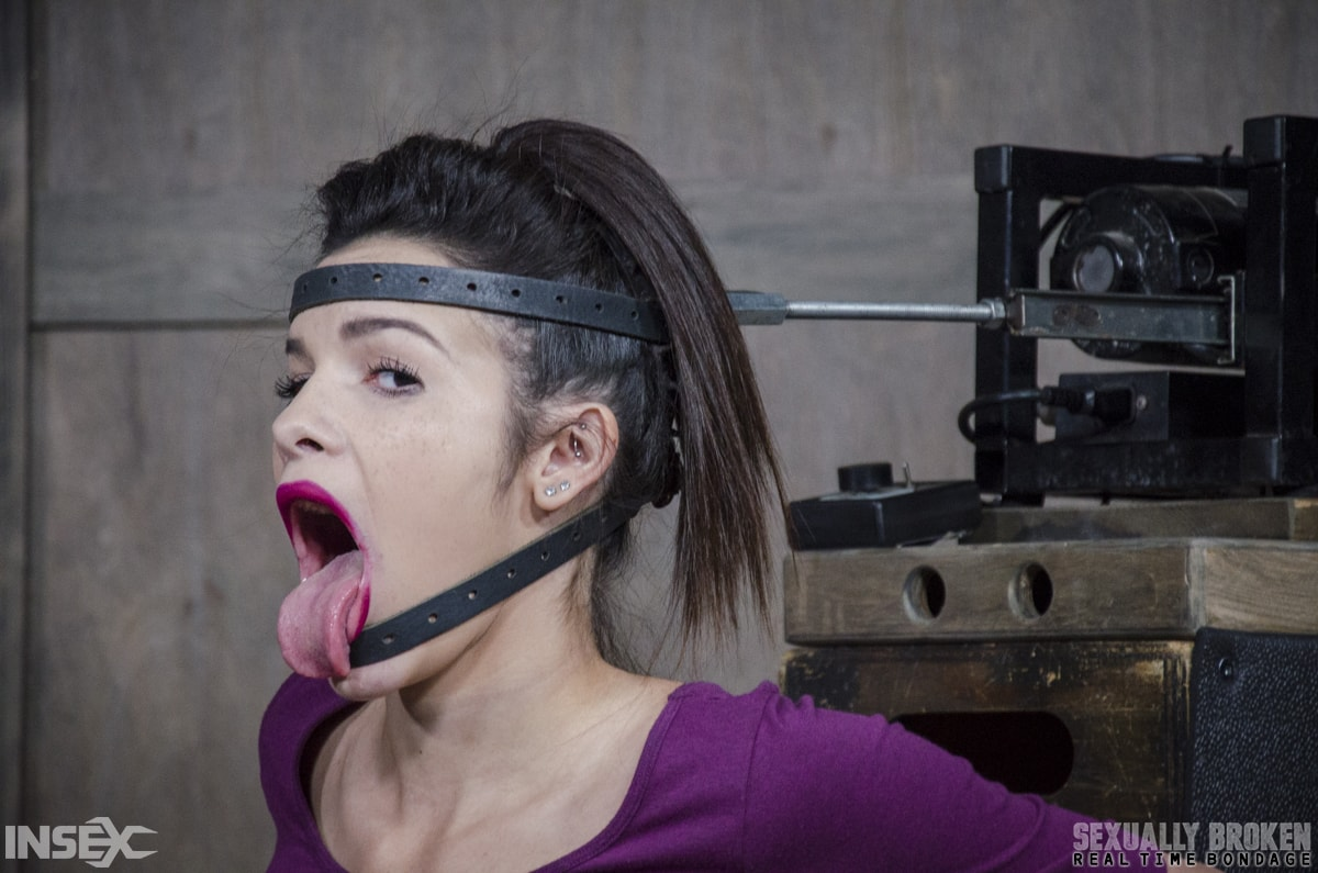 Insex 'BaRS part 1: The Return of the Face Fucking Machine, this girl was made for this!' starring Eden Sin (Photo 3)