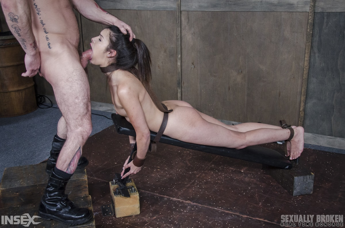 Insex 'BaRS part 2: Edin is put on the board of destruction. Brutal fucking, and deepthroating!' starring Eden Sin (Photo 1)