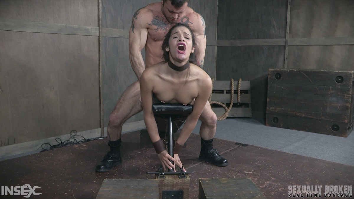 Insex 'BaRS part 2: Edin is put on the board of destruction. Brutal fucking, and deepthroating!' starring Eden Sin (Photo 7)